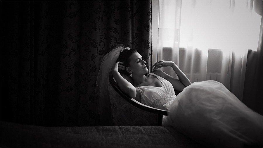 свадебное фото, портрет невесты, Чернецкая Юля