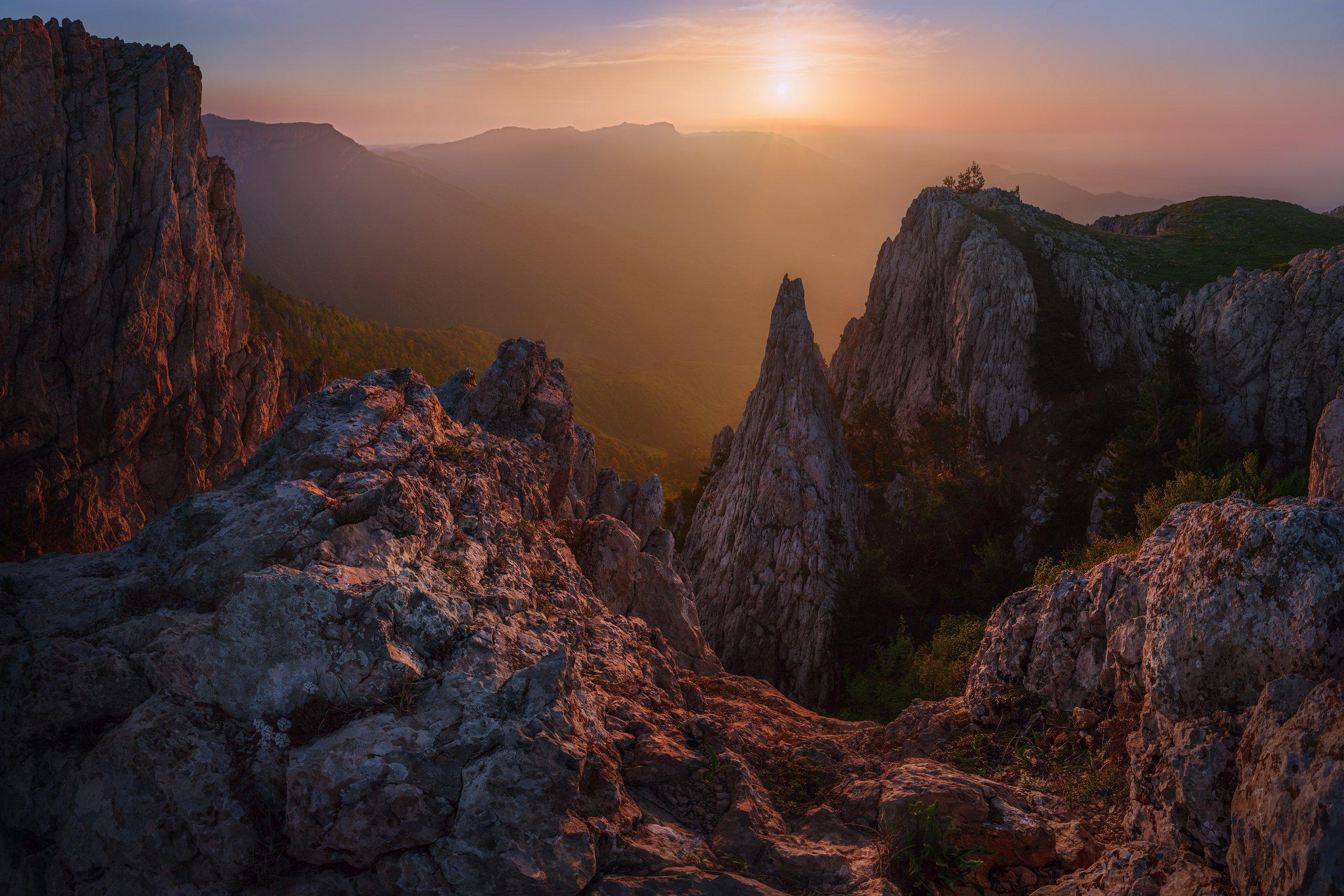 Крым, Горы, Константин Воронов
