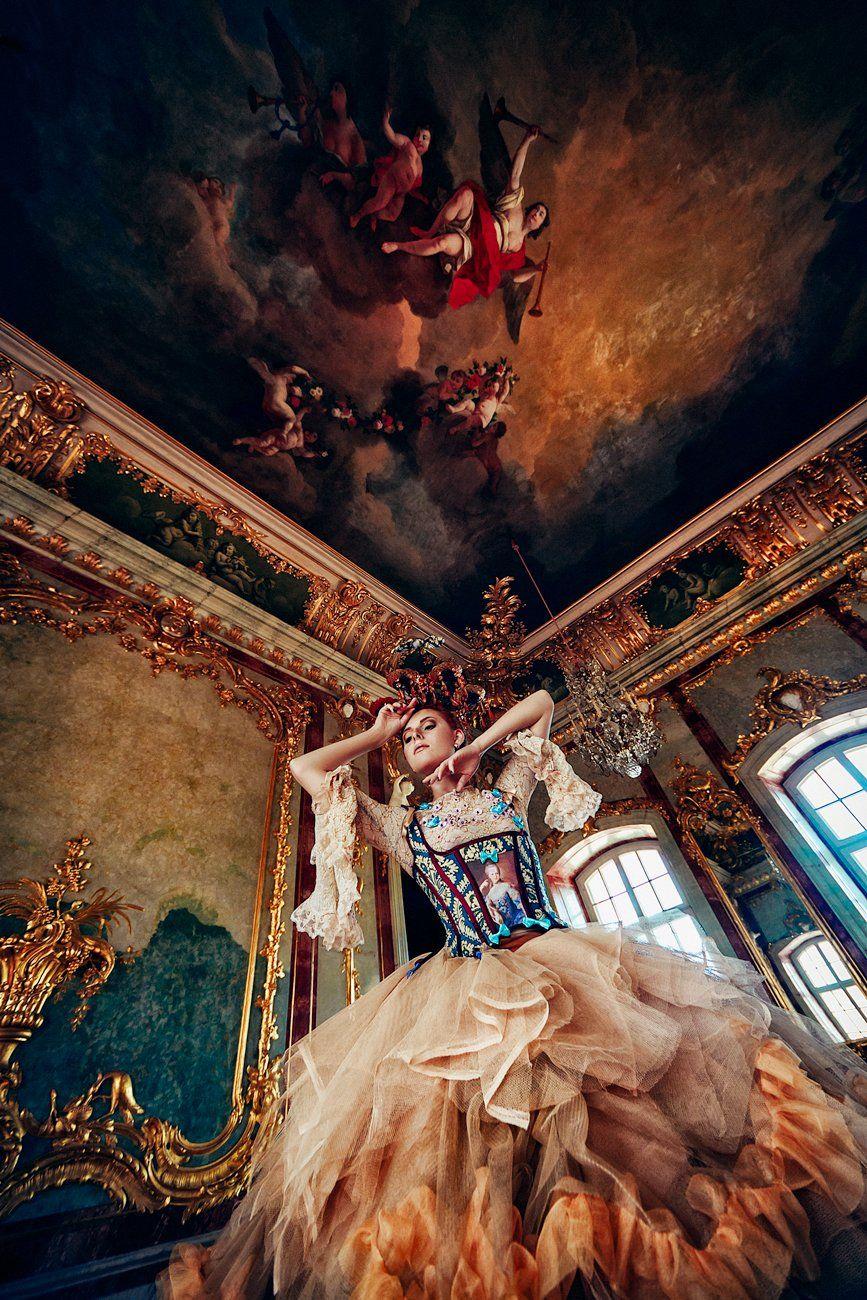 woman, beauty, fashion, art, intdoors, palace, Руслан Болгов (Axe)