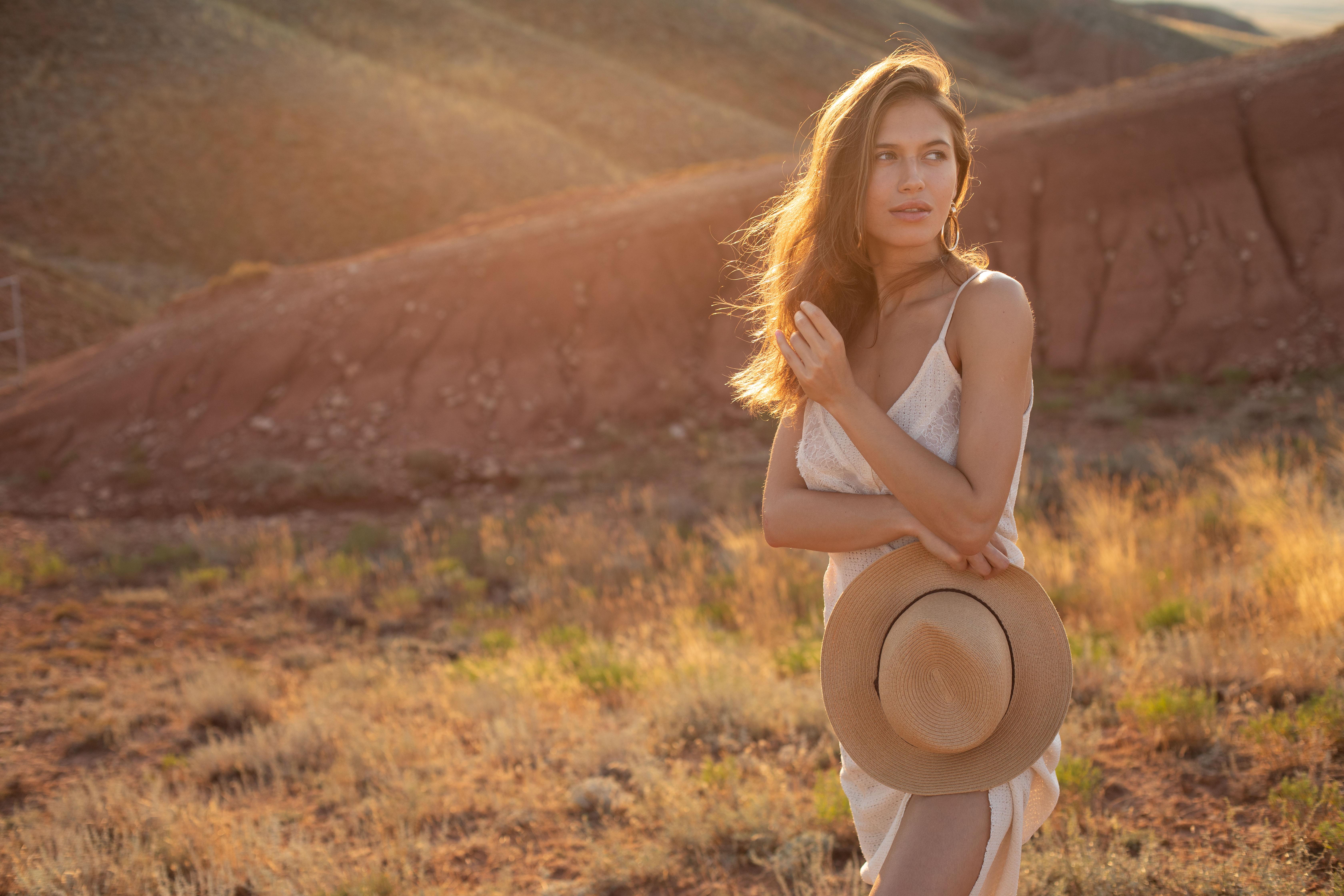 девушка гора природа фэшн, Екатерина Лебедева