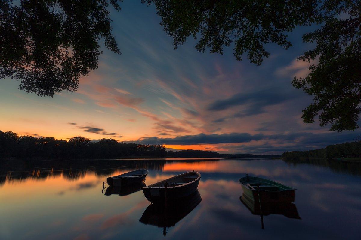 landscape,canon,mist,light,summer,sunset, Iza i Darek Mitręga