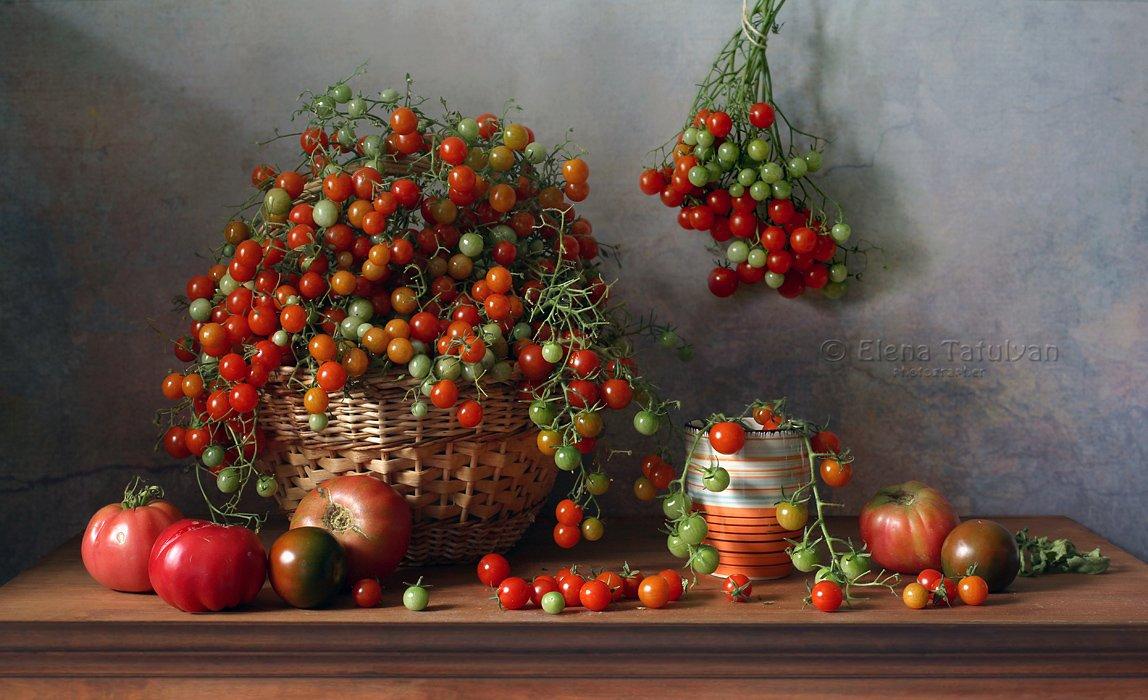 помидоры-черри, помидоры, томаты, овощи, Елена Татульян