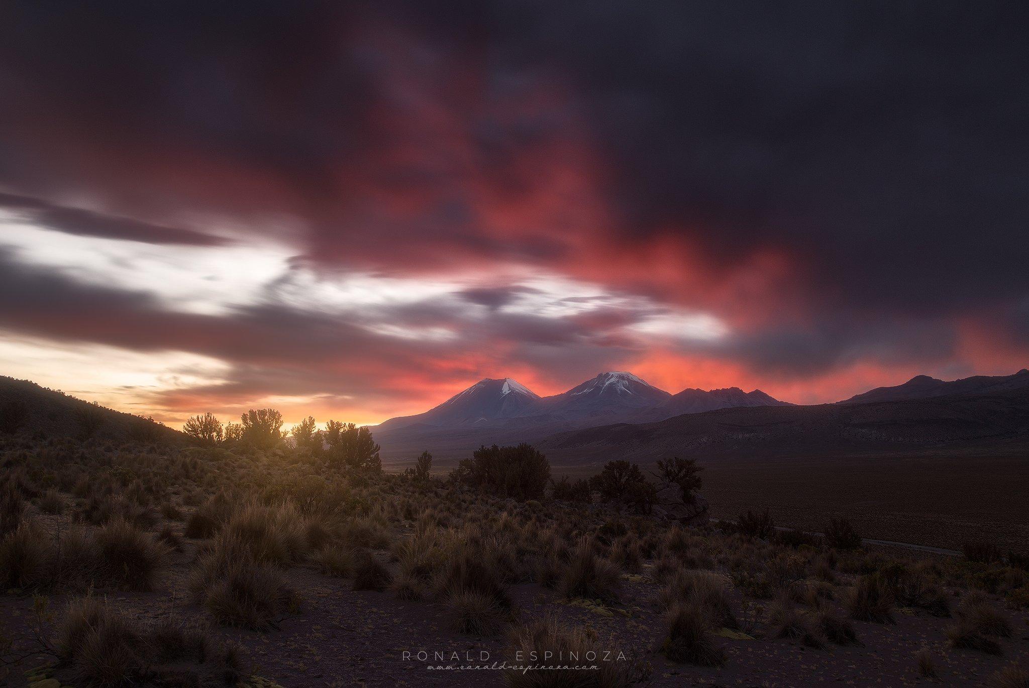 landscape, nature, travel, sunset, bolivia, mountain, conservation, Espinoza Marón Ronald Alex