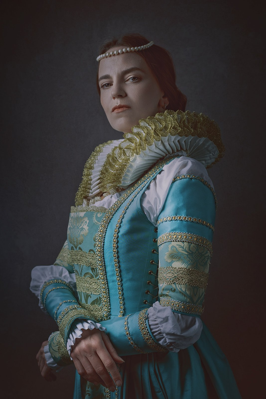 female, portrait, dark beauty, beauty, dark, retro, vintage, mood, queen, lady, noble, honor, heritage, femine, woman, one, person, people, medieval, Дмитрий Толоконов