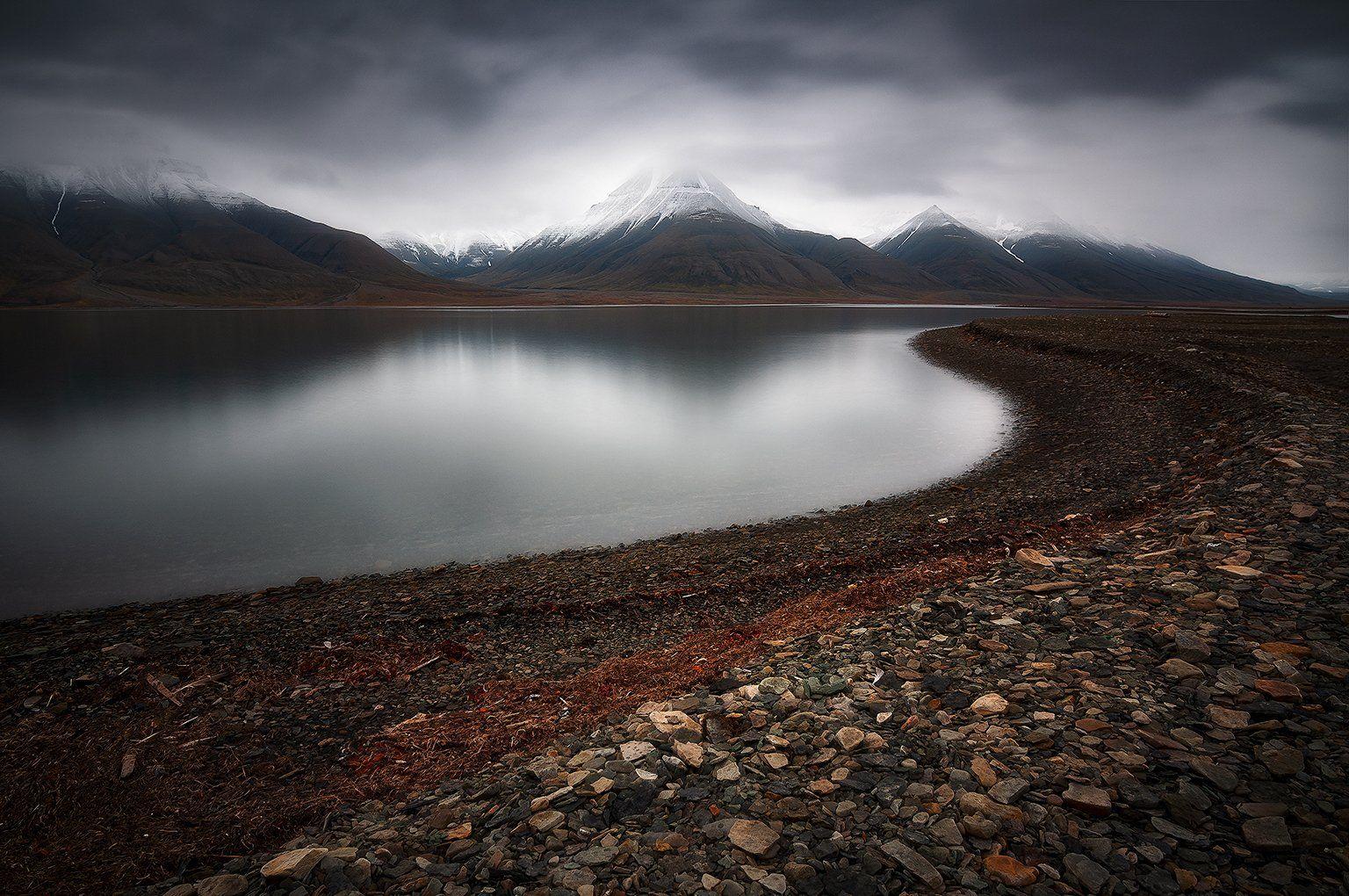 svalbard, spitsbergen, northnorway, islands, sandstones, polar, arctic, summer, longexposure, Csomai David