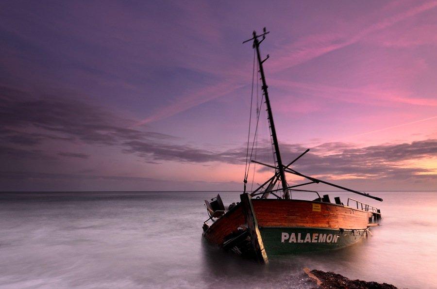 балтика, море, утро, пейзаж, Дмитрий Бойко
