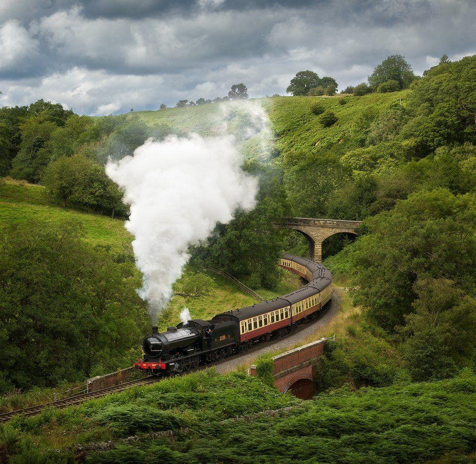 england, steam train, Alex Yurko