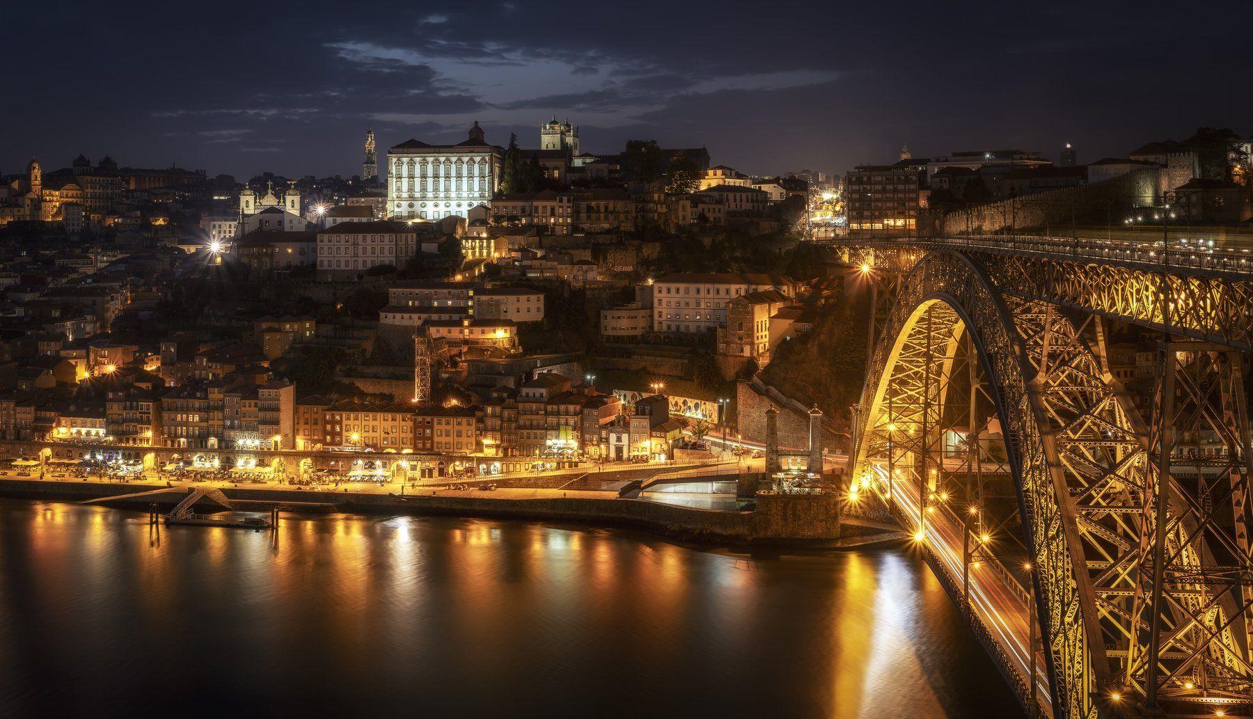 город, португалия, мост, Alexandr Bezmolitvenny
