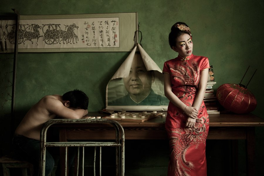 chinese, umbrella, Oleg V. Semenets