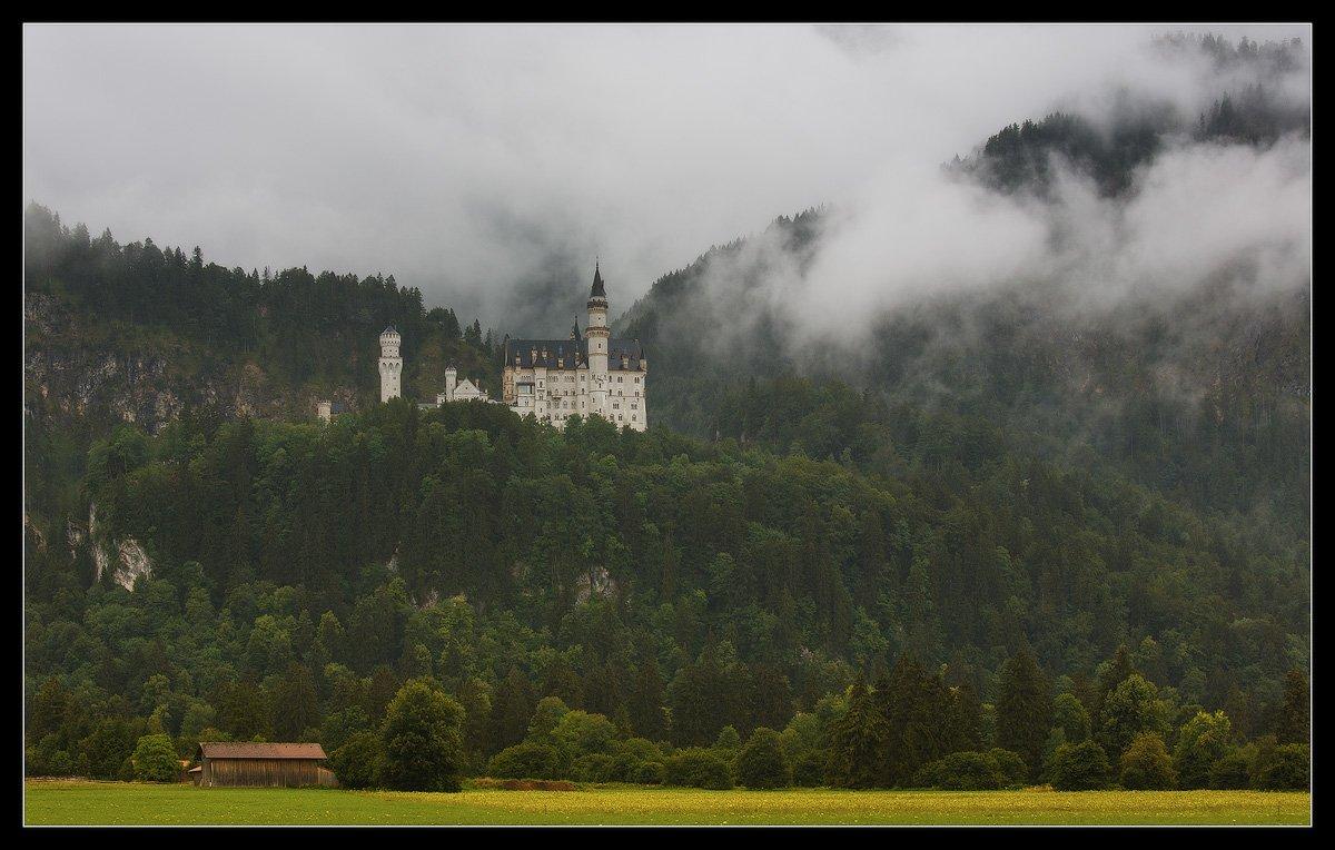 neuschwanstein, нойшванштайн, германия, бавария, замок, Ilya Shtrom
