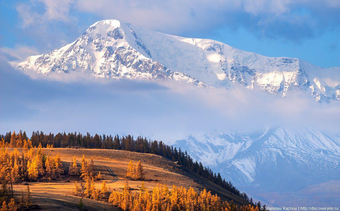 осень, Алтай, Станислав Казнов