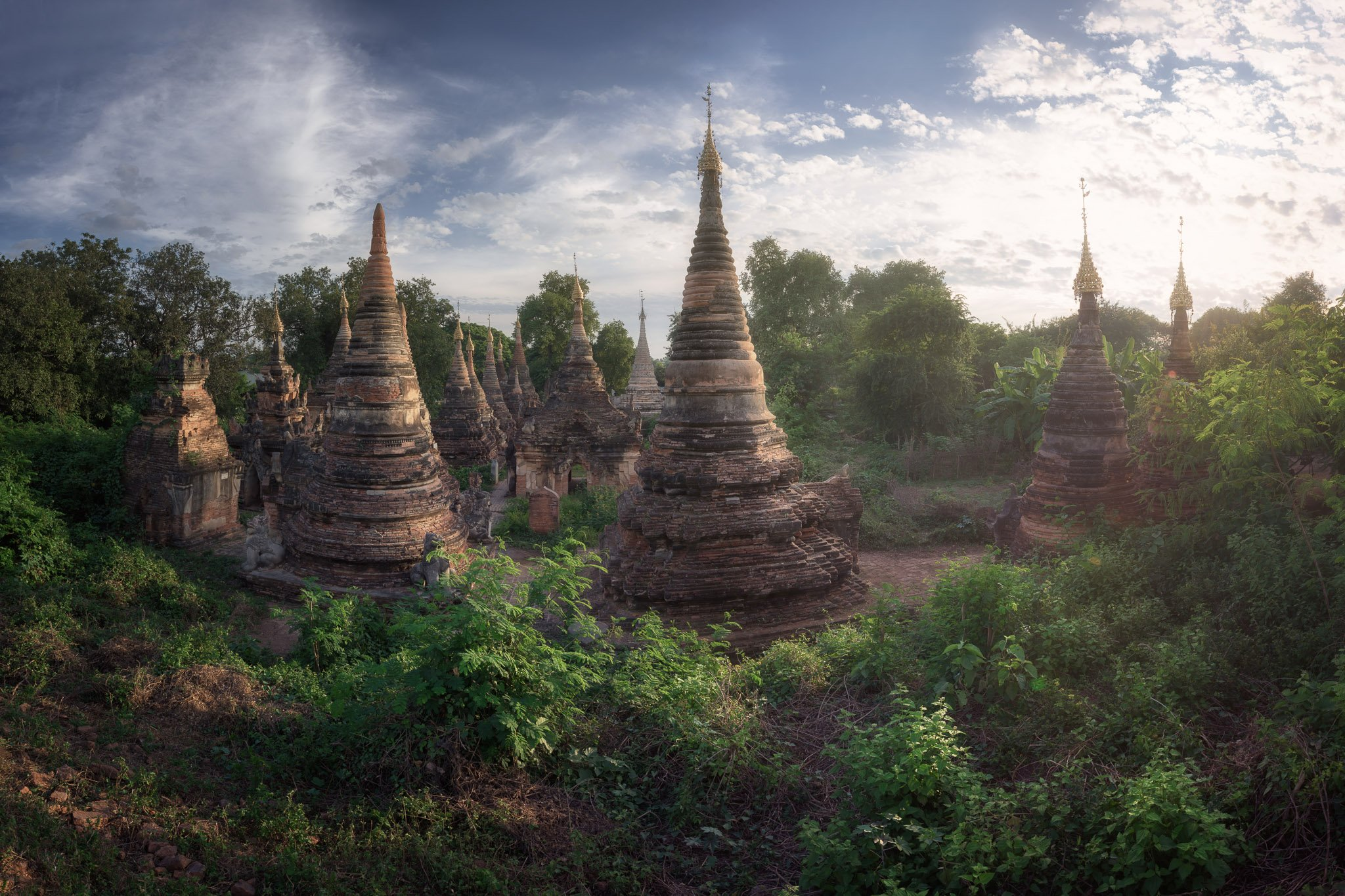 ancient, archeological, architecture, asia, asian, ava, brick, buddha, buddhism, building, burma, burmese, carving, city, column, complex, culture, evening, green, historic, history, house, inwa, jungle, landmark, landscape, mandalay, medieval, myanmar, o, Omelyanchuk Andrey