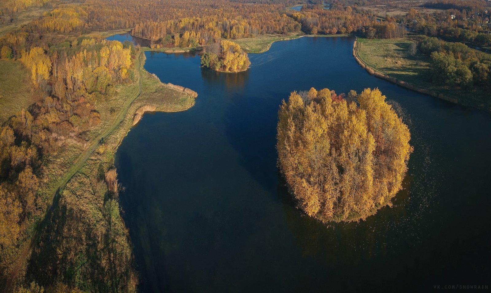 autumn, nature, aerial, drone, аэрофотосъемка, коптер, природа, пейзаж, landscape, осень, djispark, Snowrain