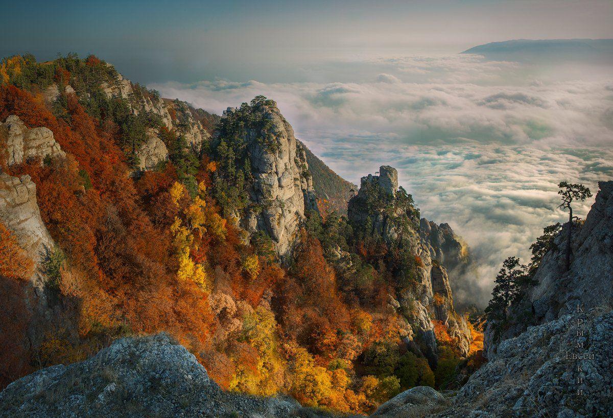 осень в горах., Борис Костарев