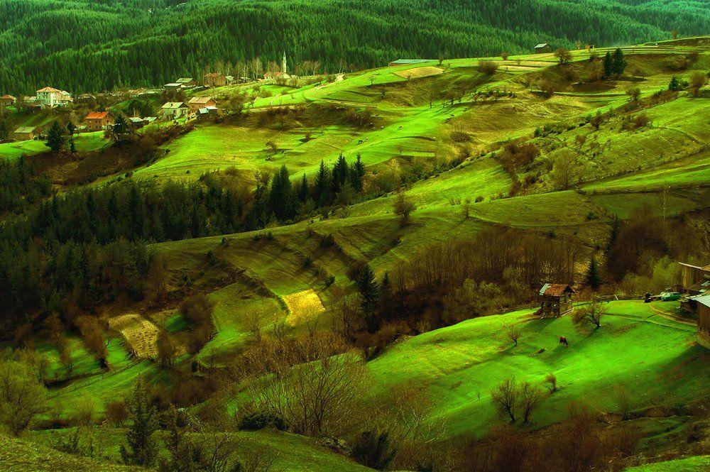 rhodope, sunrise, mountain villages, bulgaria, Albena Markova