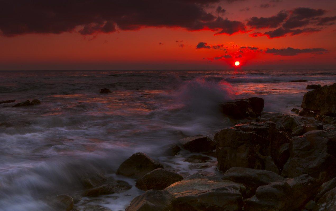 море, закат, Ирина Заграничная