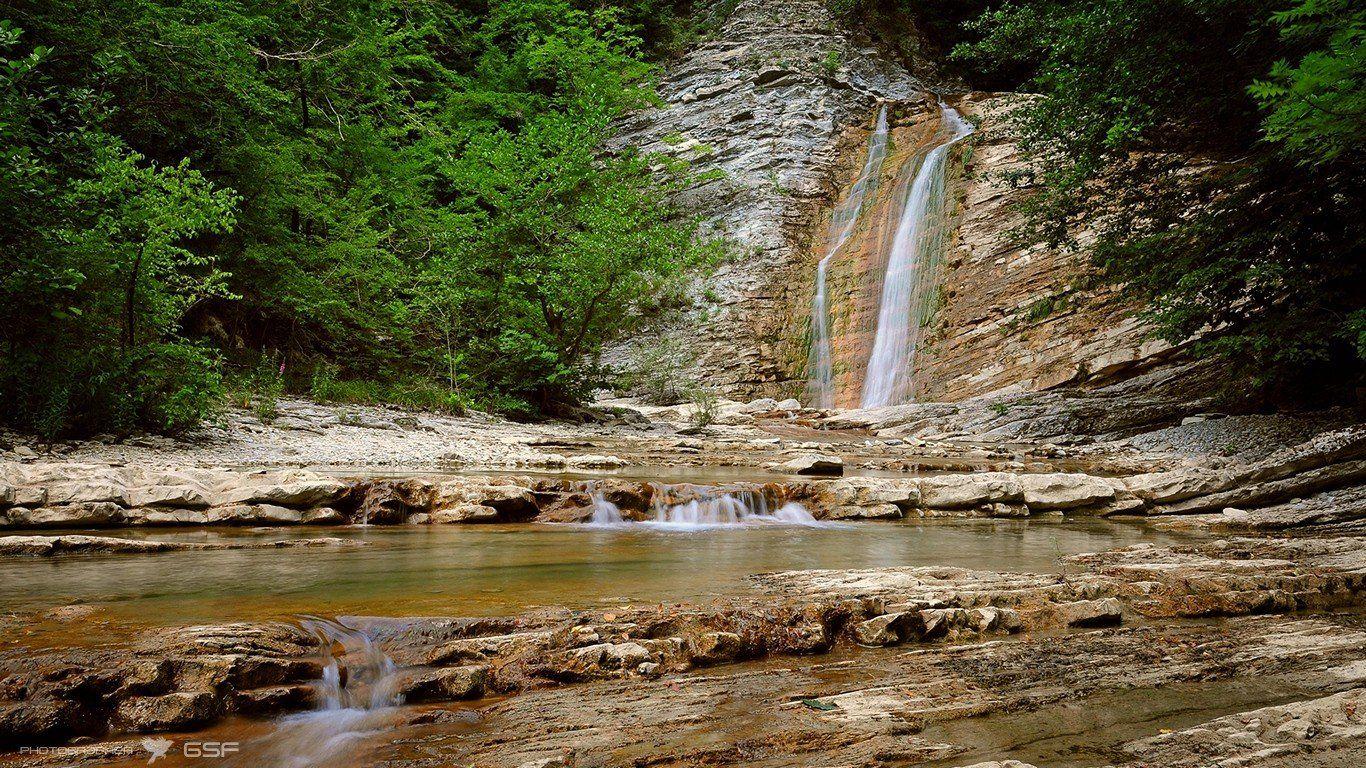 плесецкое, ущелье, водопады, природа, пейзаж, Serj Master