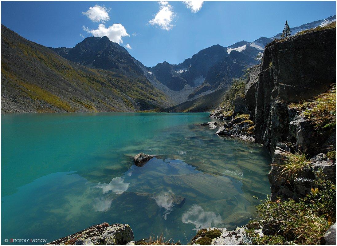 горный алтай, катуньский хребет, мультинские озера, озеро поперечное, Иванов Анатолий