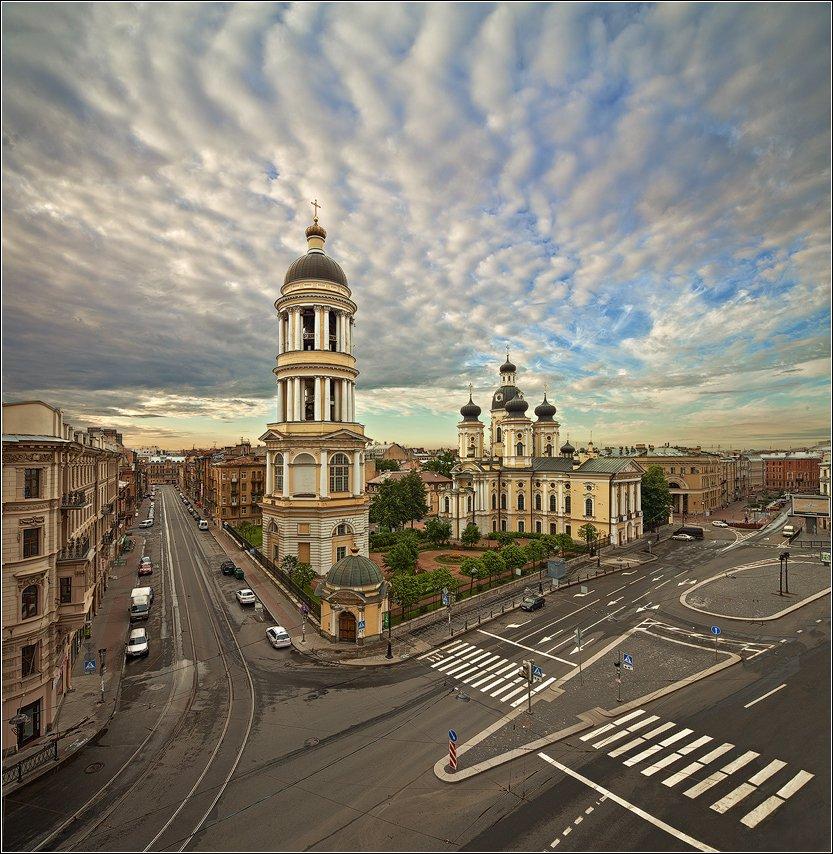 санкт-петербург, владимирский, собор, панорама, EGRA : ЕГРА
