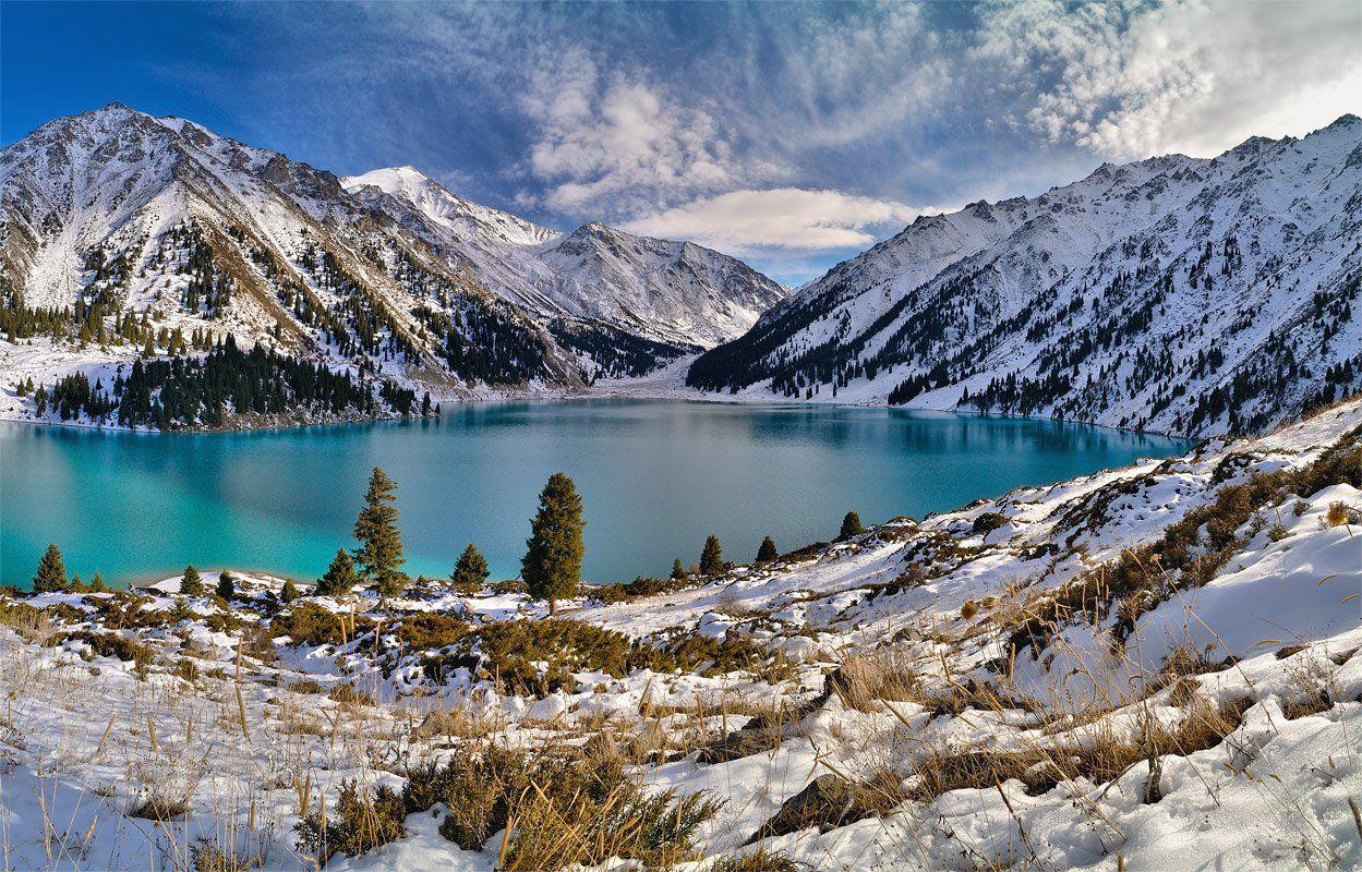 nikon, d90, kazakhstan, lake, landscape, nature, tien-shan, mountain, казахстан, природа, пейзаж, алатау, горы, озеро, Эдуард