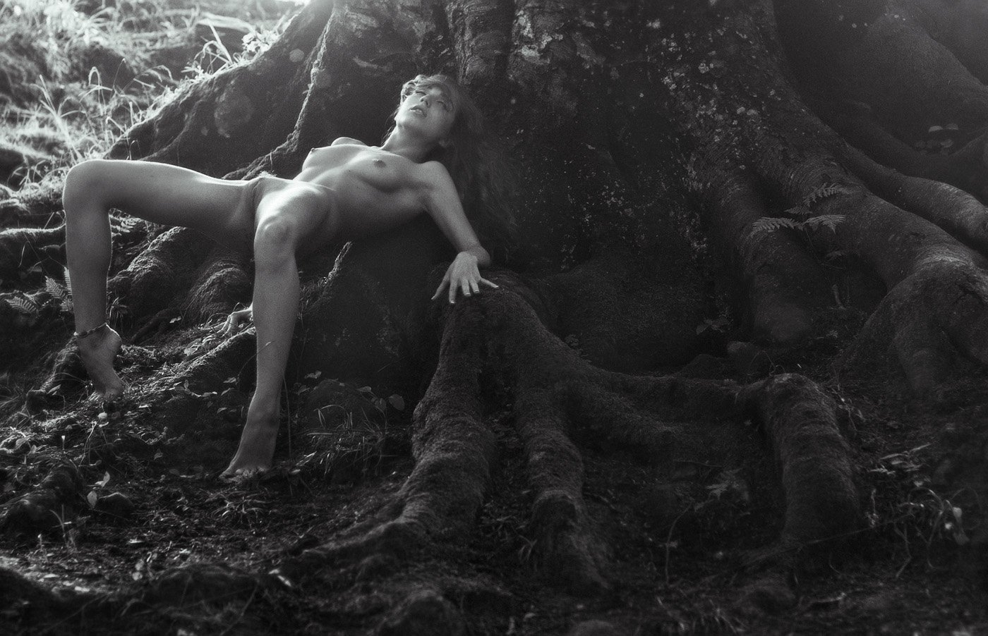эротика,лес,природа, Аркадий Курта