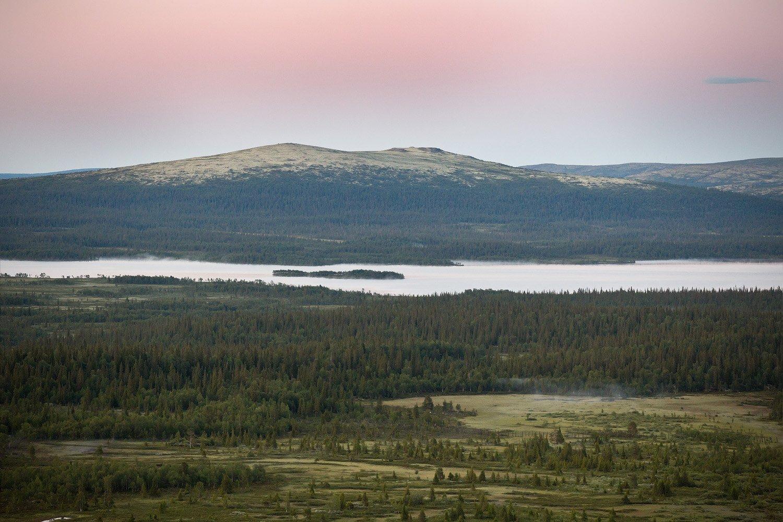 кольский, полуостров, лето, рамозеро, туман, Nikolai (locus)