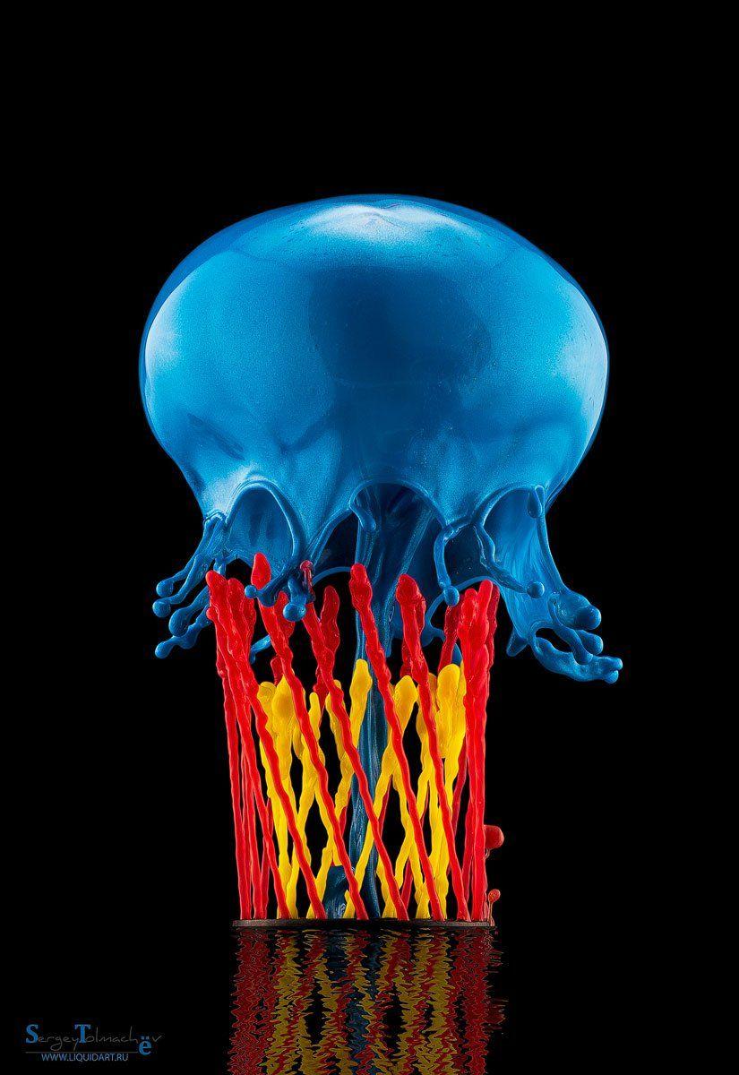 вода, капли, жидкость, макро, арт, liquid, liquidart, splash, drop,, Сергей Толмачев