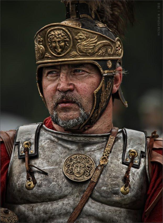 древний, рим, легионер, шлем душоново 2012 реконструкция маневры, Виктор Перякин