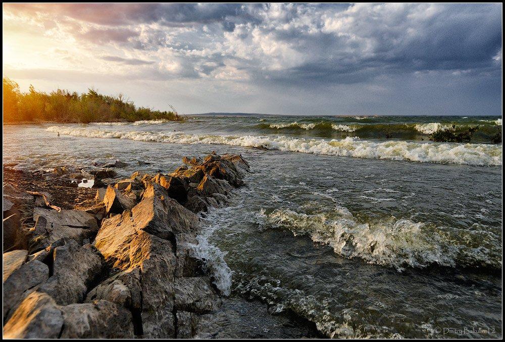 вода, водохранилище, озеро, Дмитрий Бакулин