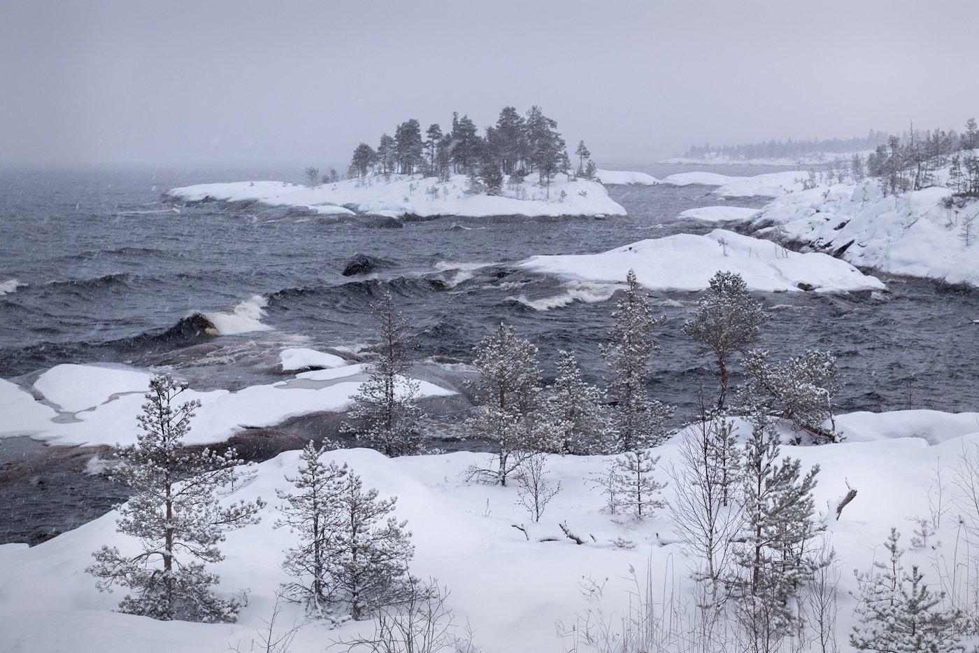 зимняя ладога, шхеры зимой, карелия, фототур, Арсений Кашкаров