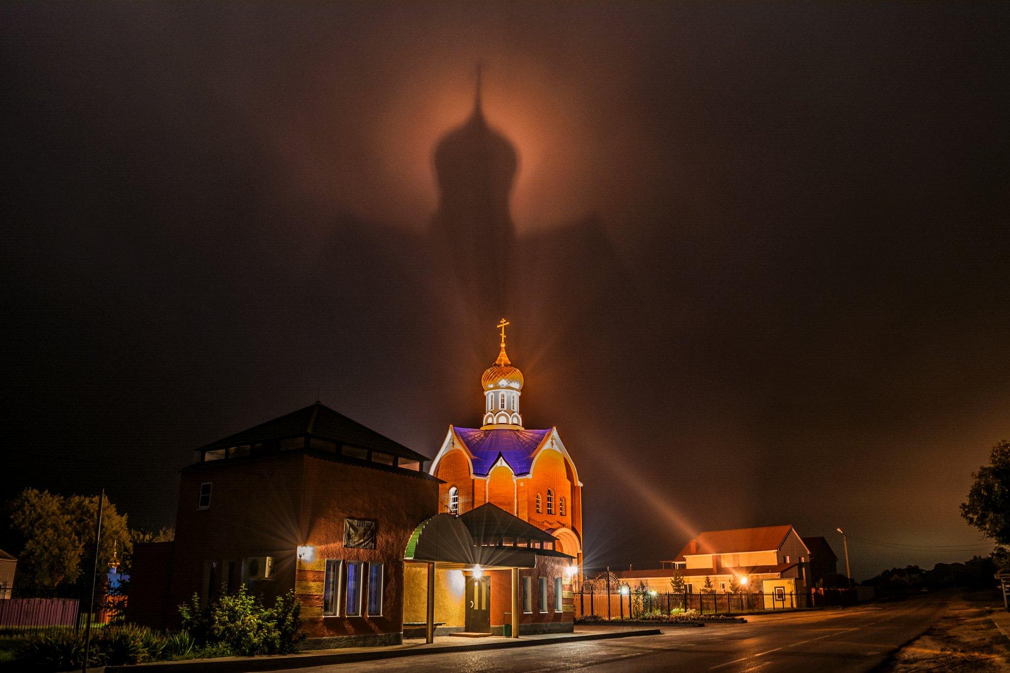 храм на небесах,храм,тень,шебекино, Литвишко Александр