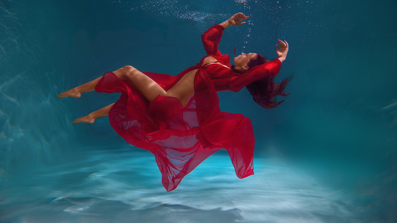 подводная съемка,photographer,красное платье, studionemo, erotic, nude ,melefara, photographer, photo, эротика , фотограф ,pannakottaspb, MELEFARA SERGEI
