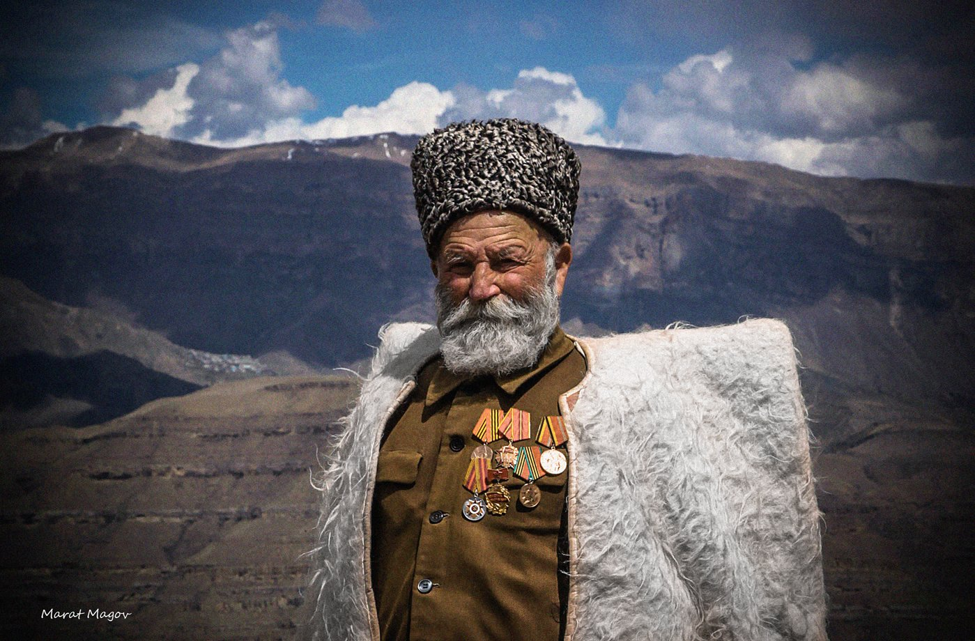 горец,горы,ветеран,джигит,старец,дед,дагестан,, Magov Marat