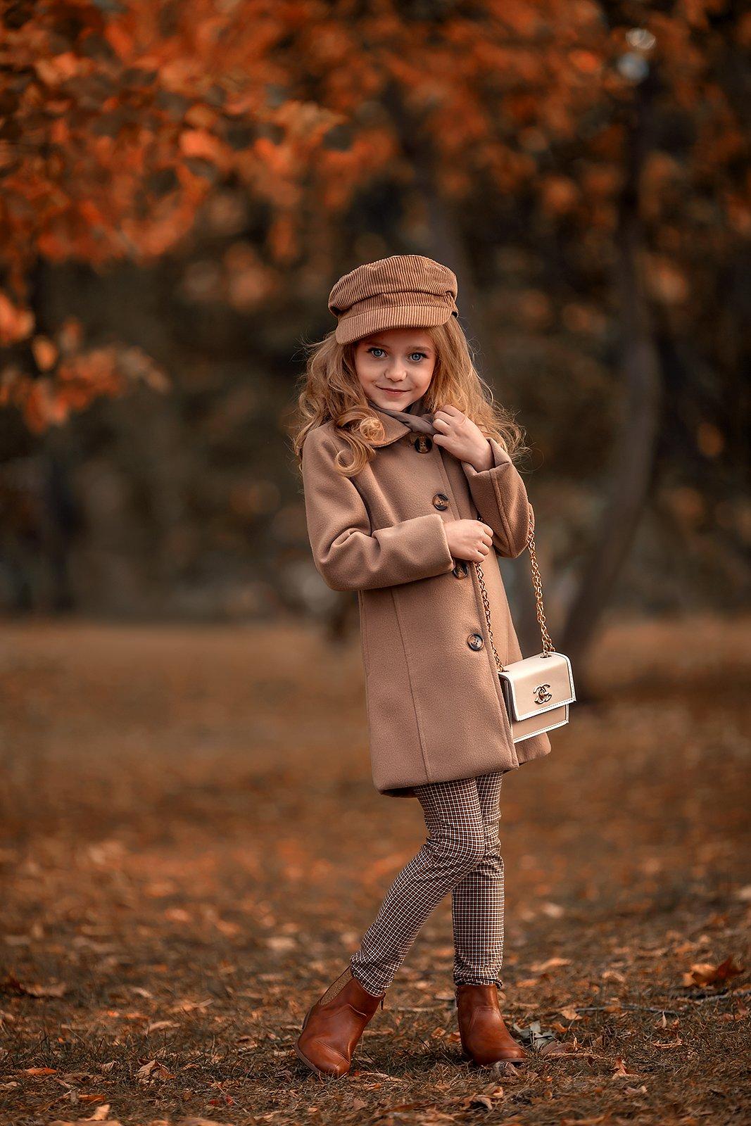 Девочка Ребенок Осень, Ярилин Сергей