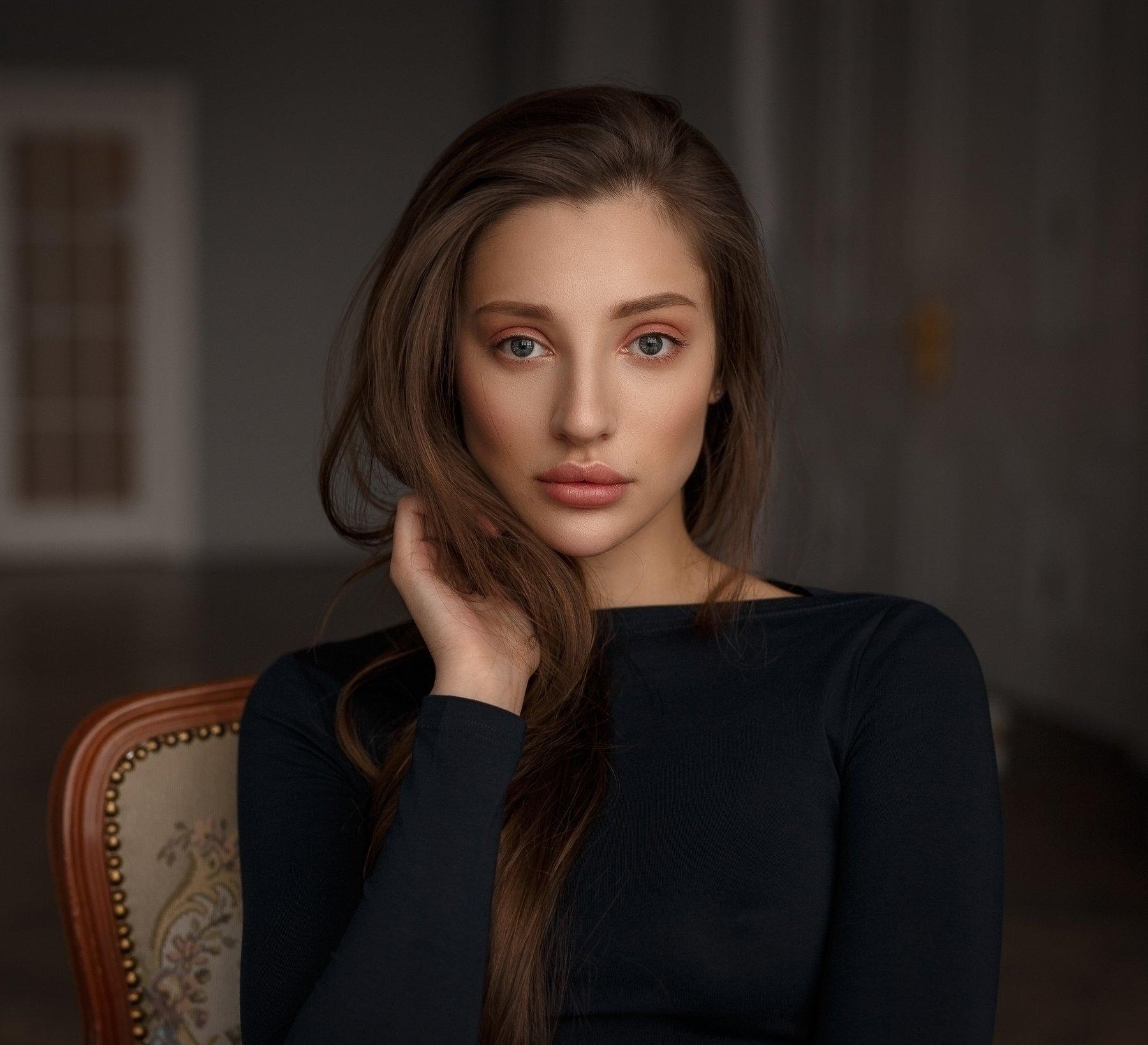 portrait, model, портрет, модель, eyes, Смирнов Александр