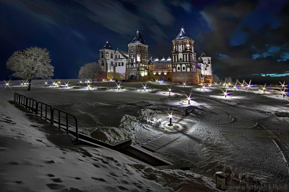 беларусь, город, мир, вечер,  ночь, Serg-N- Melnik-oy