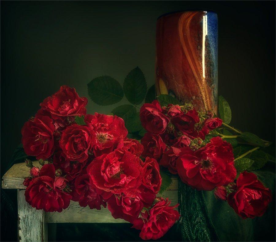 Букет роз.  Шерман Михаил
