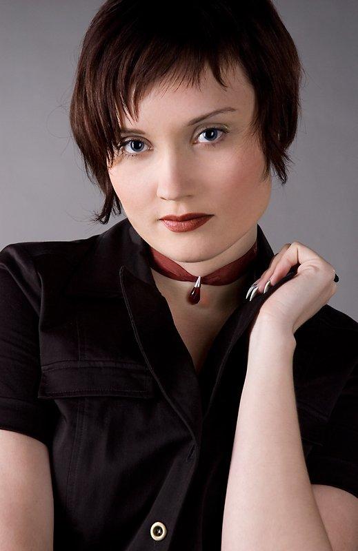 девушкая портрет глаза, Anna Fomicheva [nusha]