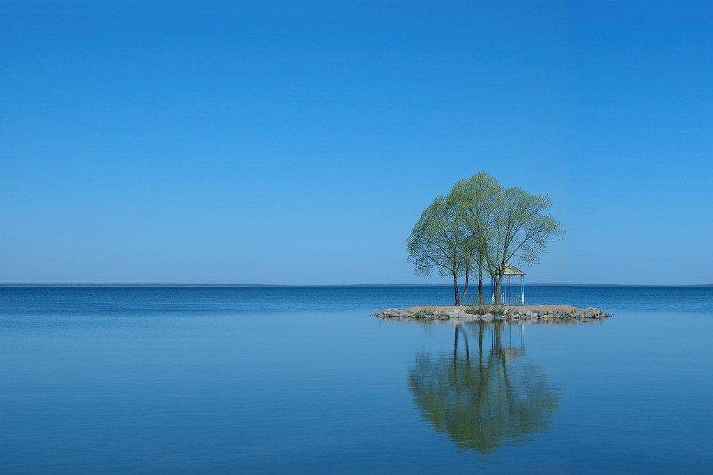 переславль-залесский, плещеево озеро, побыть робинзоном, утро, штиль, Kaiser Sozo