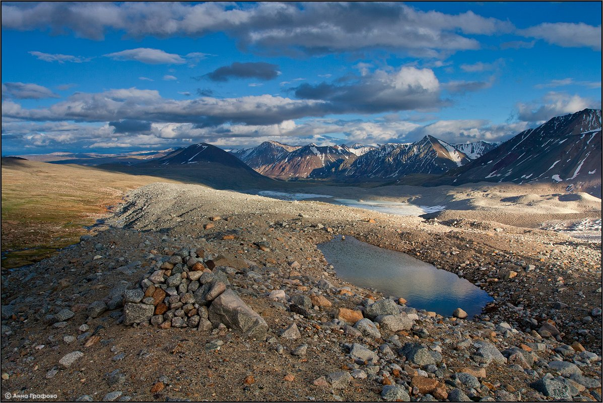 монголия, алтай, июнь, ледник потанина,  алтай таван богд, high camp, аня графова, Аня Графова