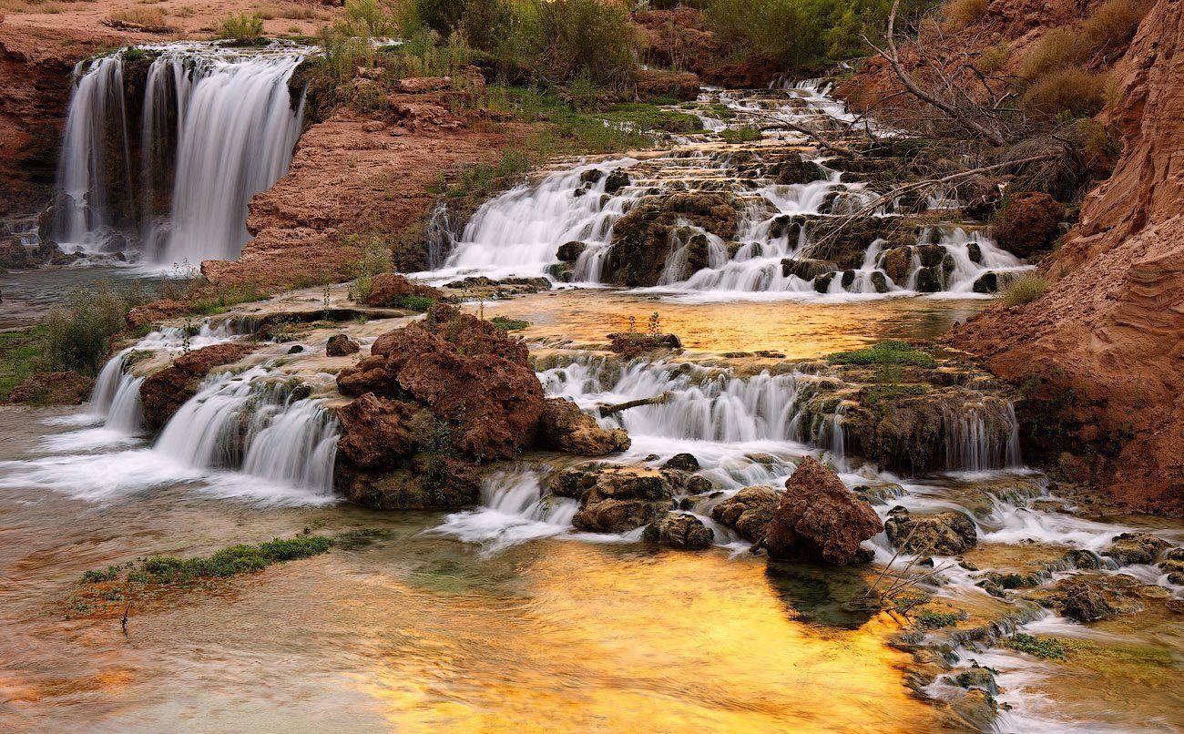 havasu, falls, supai, grand, canyon, arizona, Андрей Ведерников
