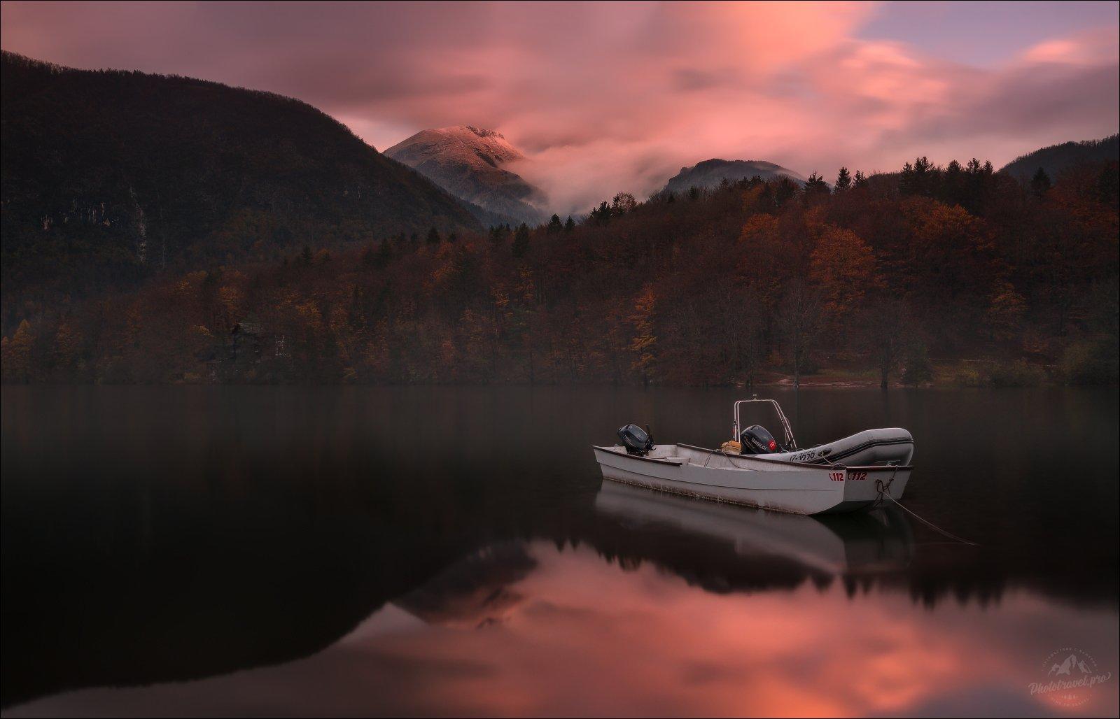 словения, бохинь, осень, slovenia, bohij lake, triglav, Влад Соколовский