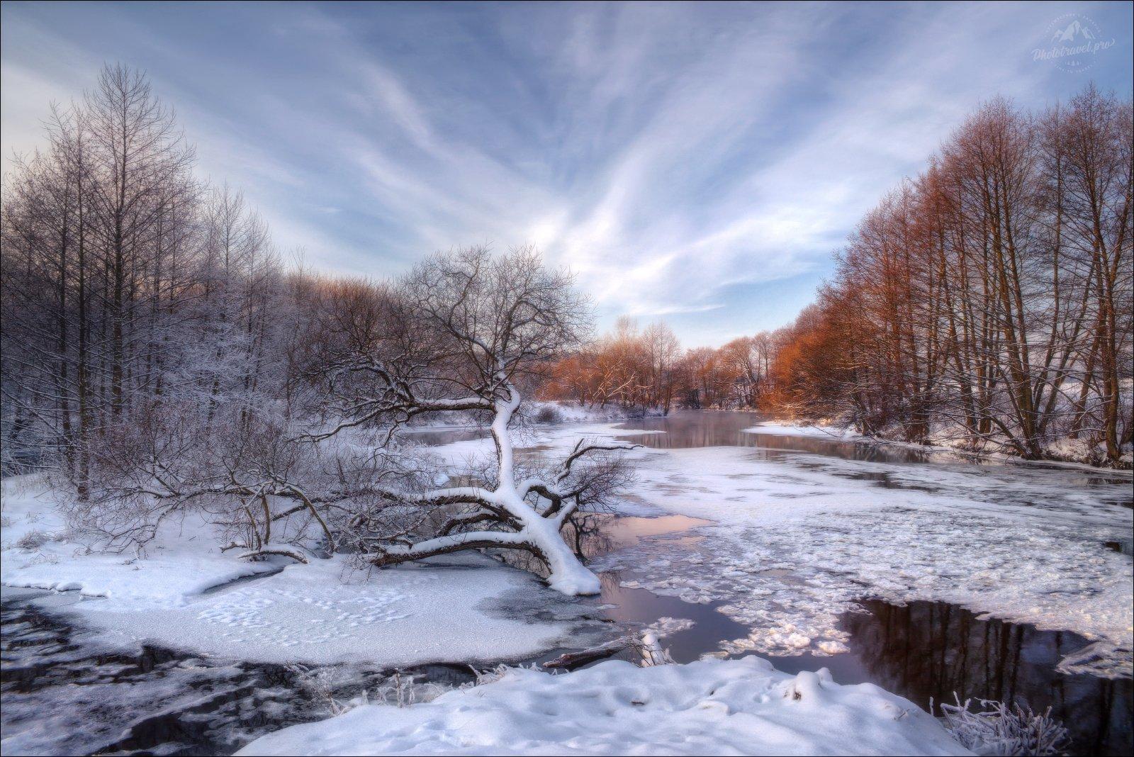 беларусь, минск, зима, лед, свислочь, ледостав, шуга, Влад Соколовский