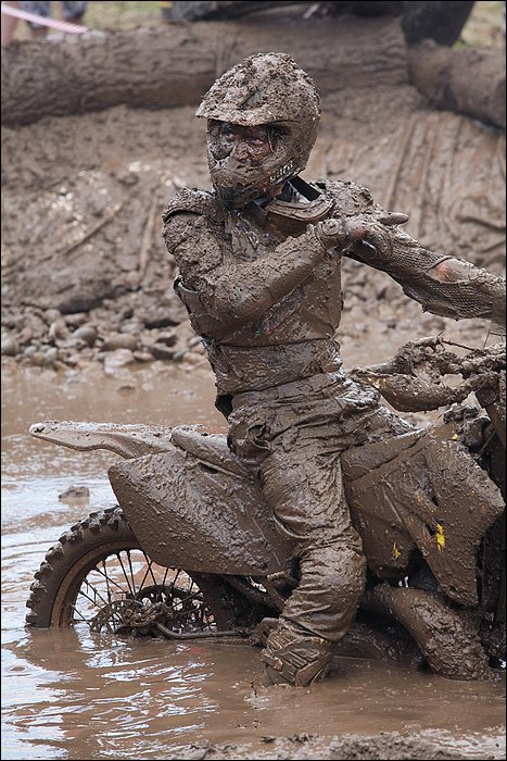 грязь, байк, лето, Victor Pechenev