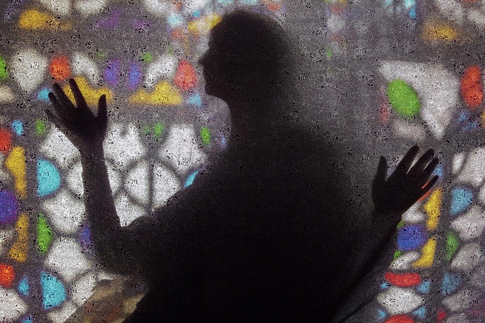 silhouette, woman, color, fine art, Dadsetan Mohammad