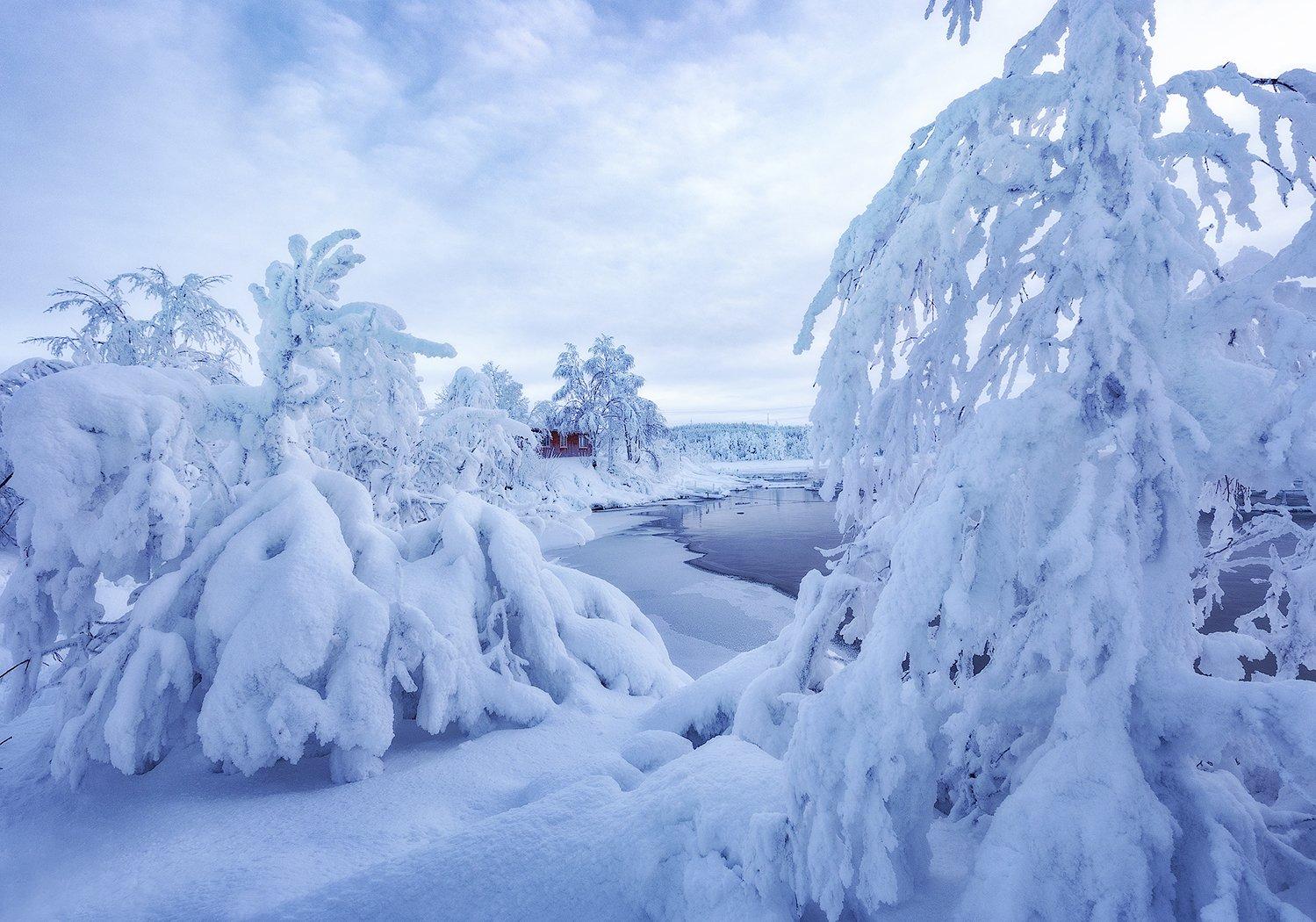 снег, кольский полуостров, Липецких Владимир