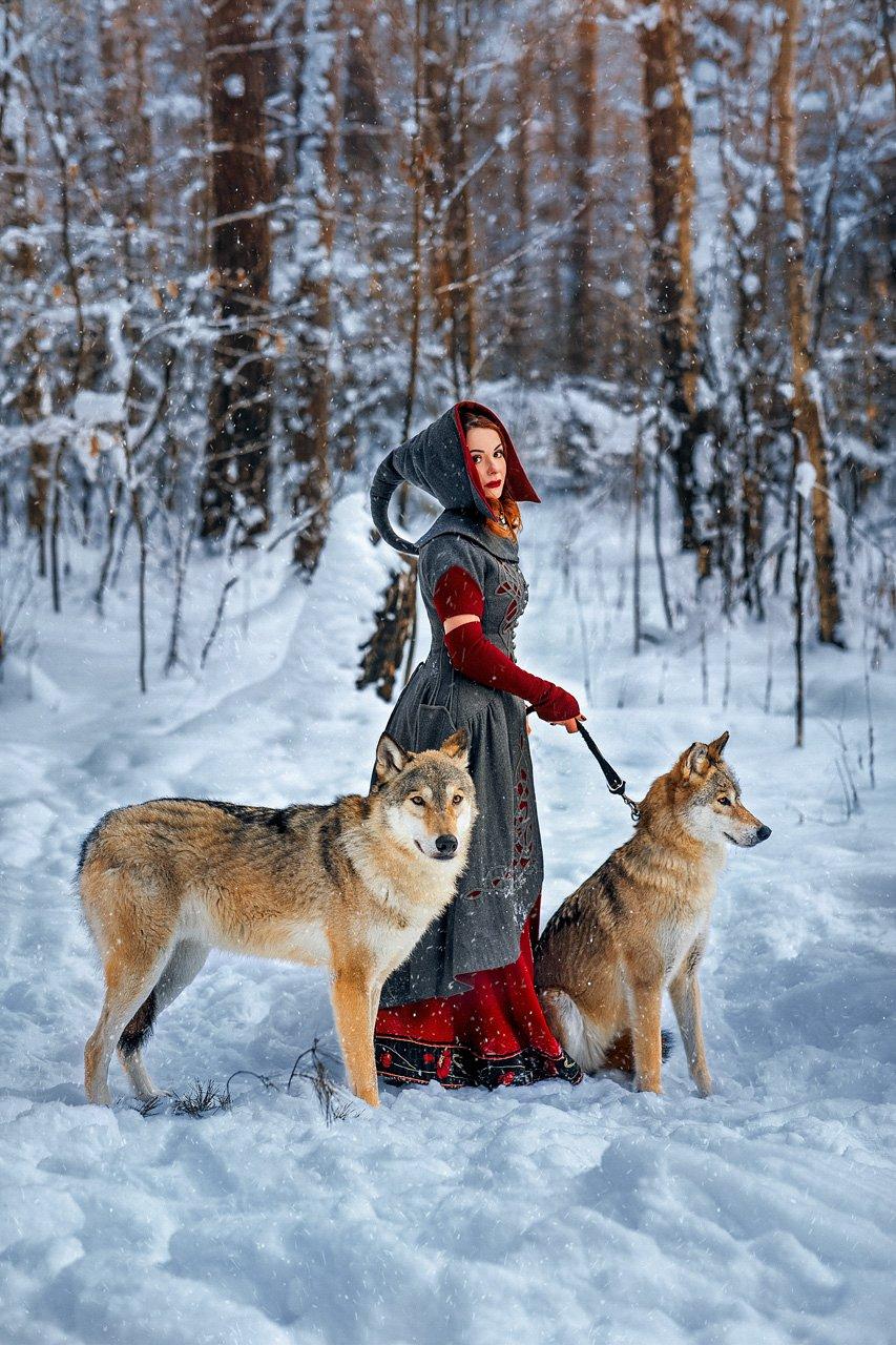 Не приручишь дикого зверя... Фотохудожник Савенкова Александра