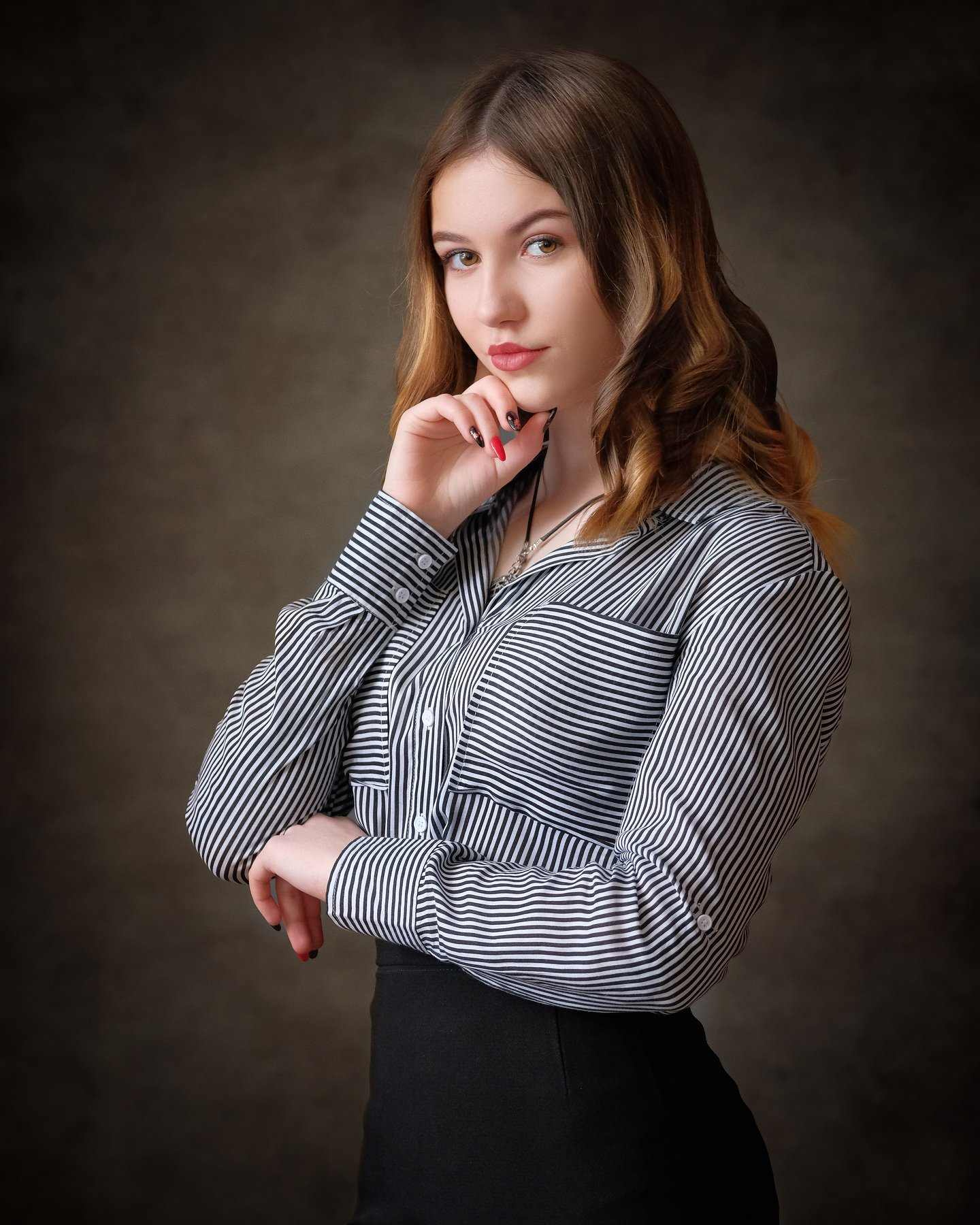 девушка, портрет, Филимошин Илья