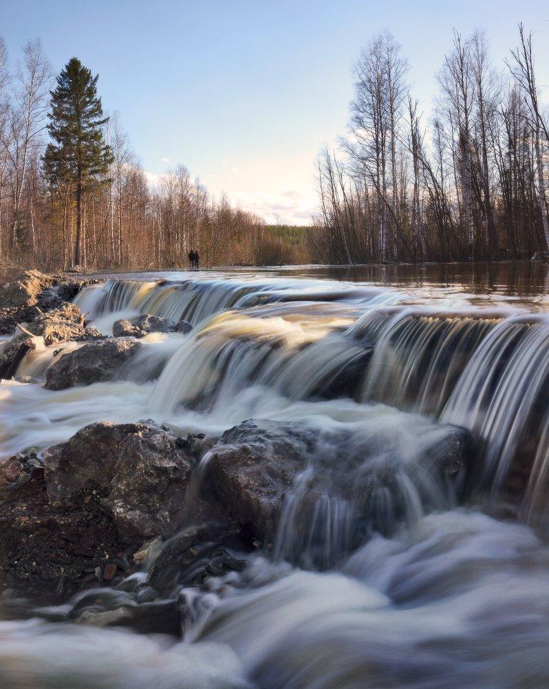 урал, река, каква, весна, половодье, наводнение, Бродяга с севера