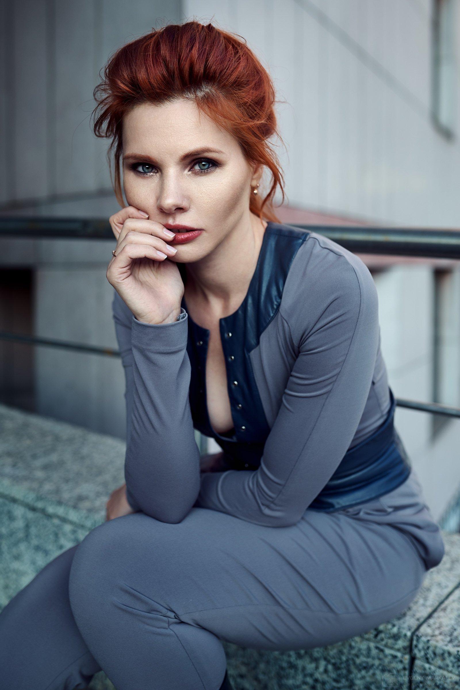woman, girl, natural light, outdoors, Евгений Маркалев